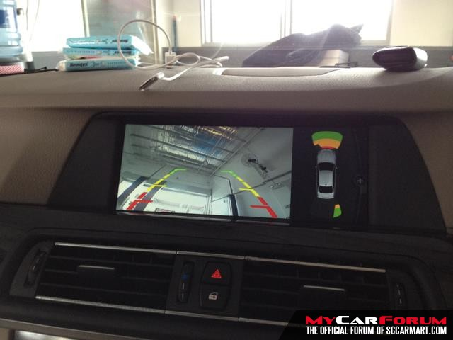 BMW Navigation System With Camera