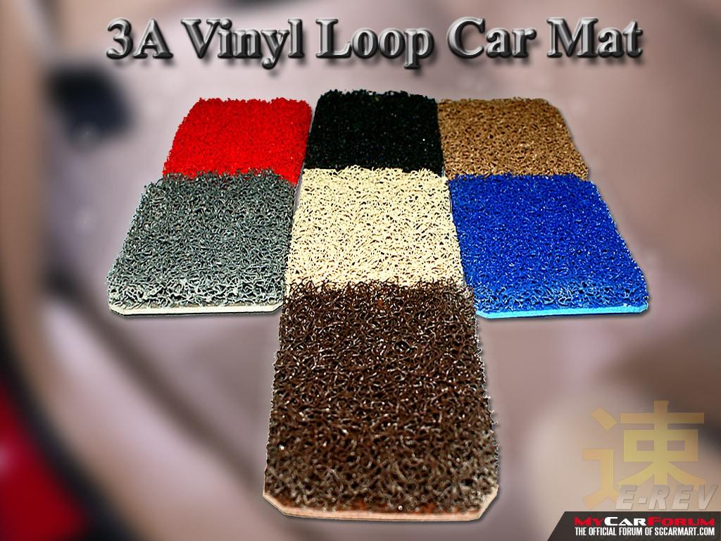 Honda Stream Vinyl Loop Car Mat