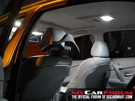 Interior LED White Light Conversion