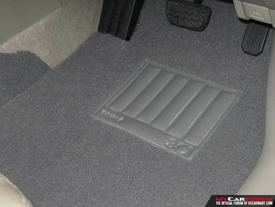 3A Toyota ISIS Customised Car Mat