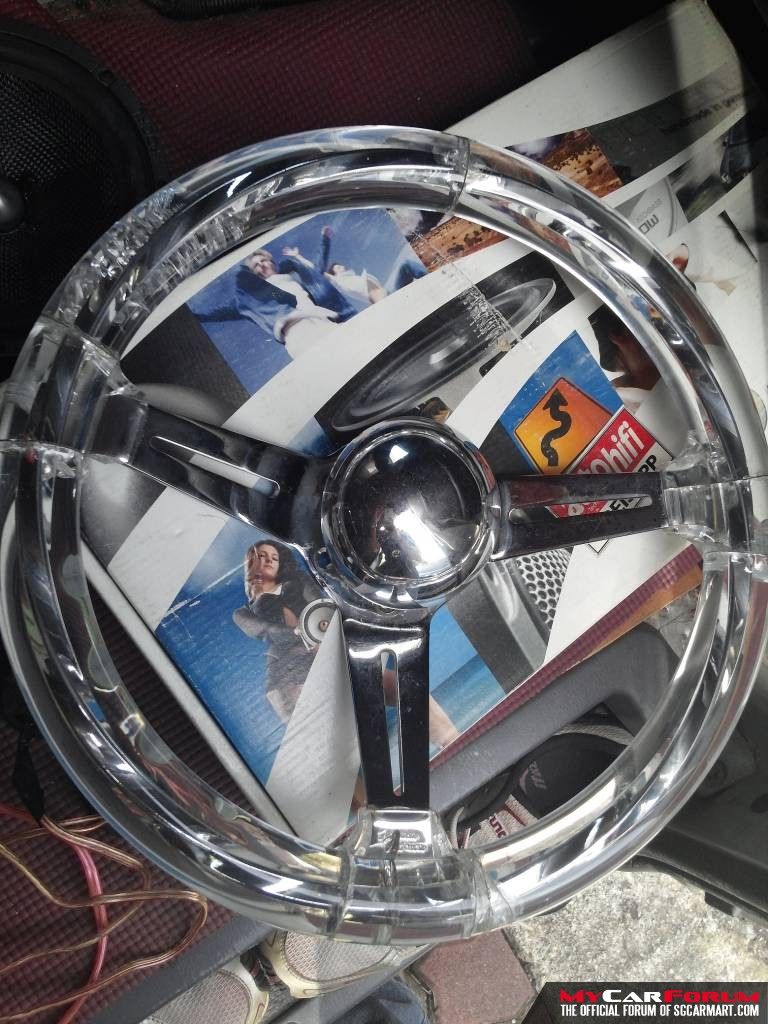 Hitman Acrylic Steering Wheel For Sale | sgCarStore