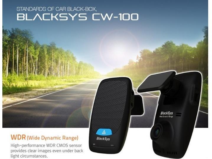 BlackSys CW-100 Wide Dynamic Range CMOS Sensor 1-Ch Car Camera