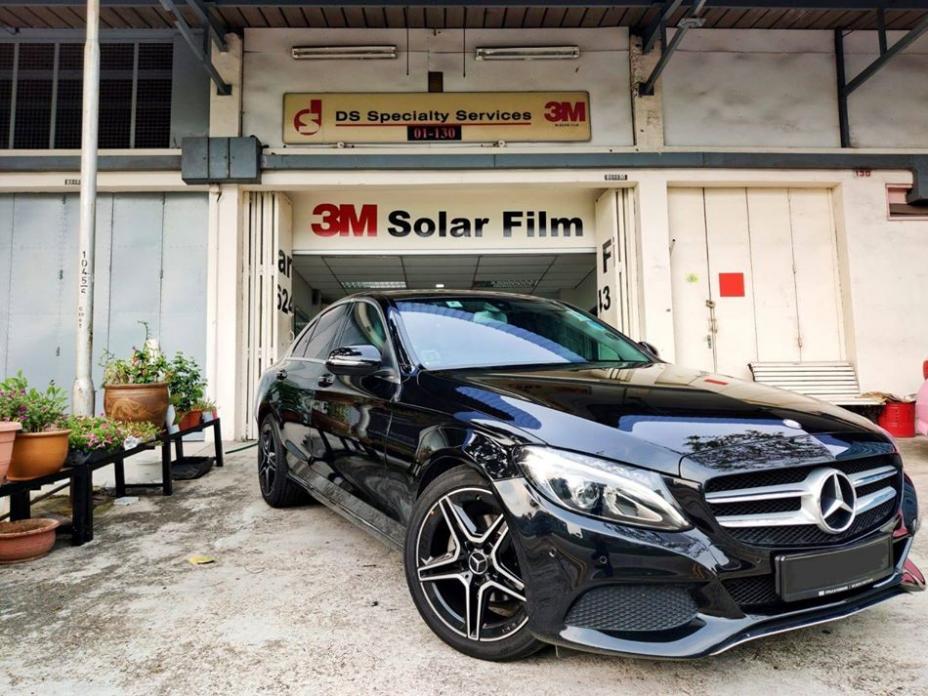 3M Crystalline Solar Film Luxury Sedan Package