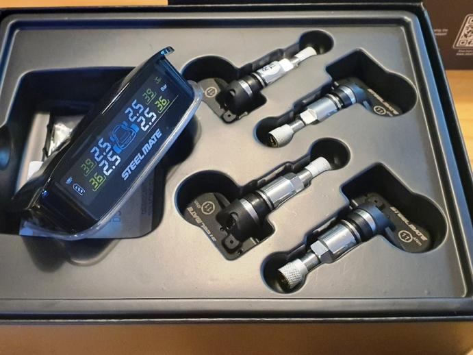 Steelmate TP-S01 TPMS Tyre Pressure Monitoring System