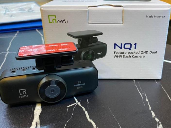 NEFU NQ1 QHD Dual WiFi Car Camera