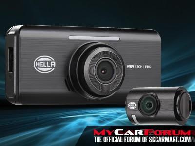 Hella DR820  2-Ch Full HD WiFi Car Camera