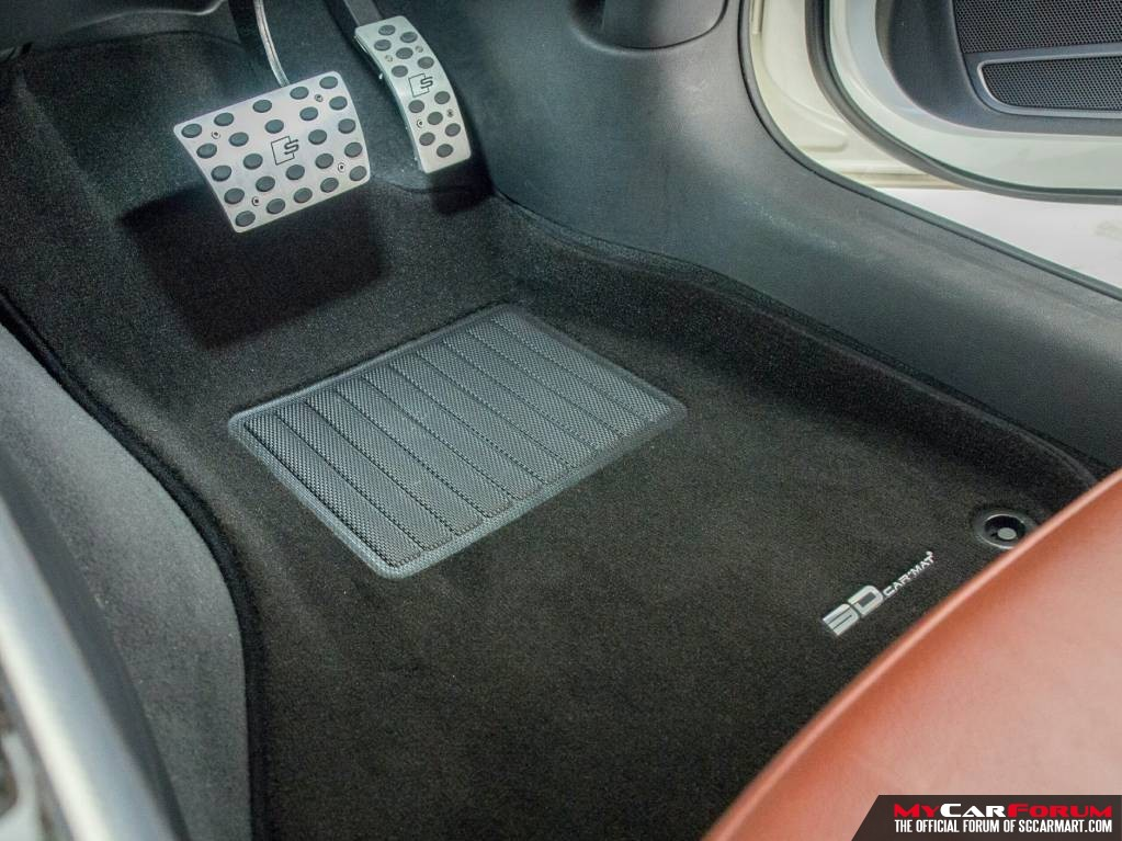 Customised Audi 3D Royal MAXpider Car Mat