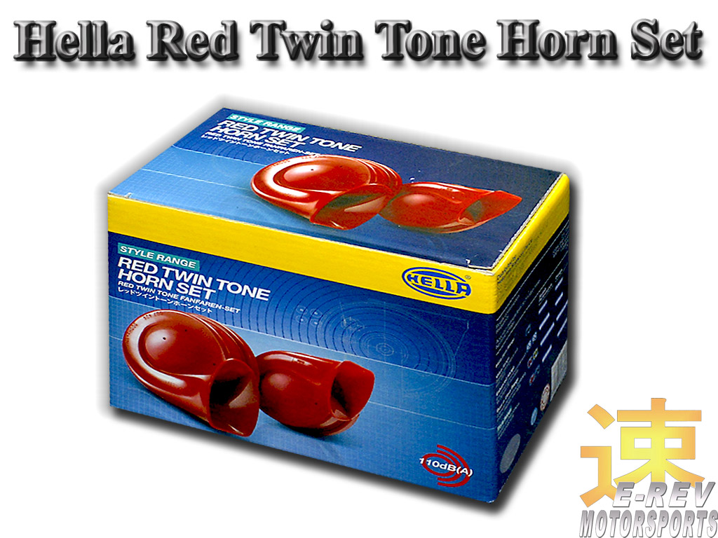 Hella Twin Tone Car Horn
