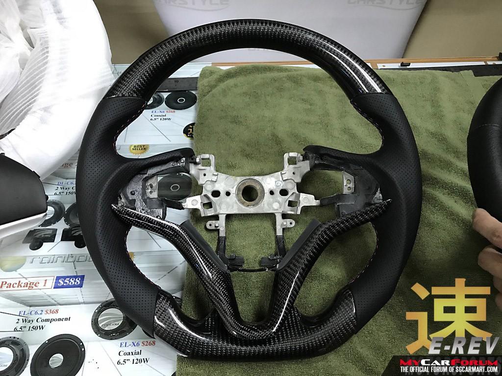 Honda Shuttle Carbon Fibre Steering Wheel