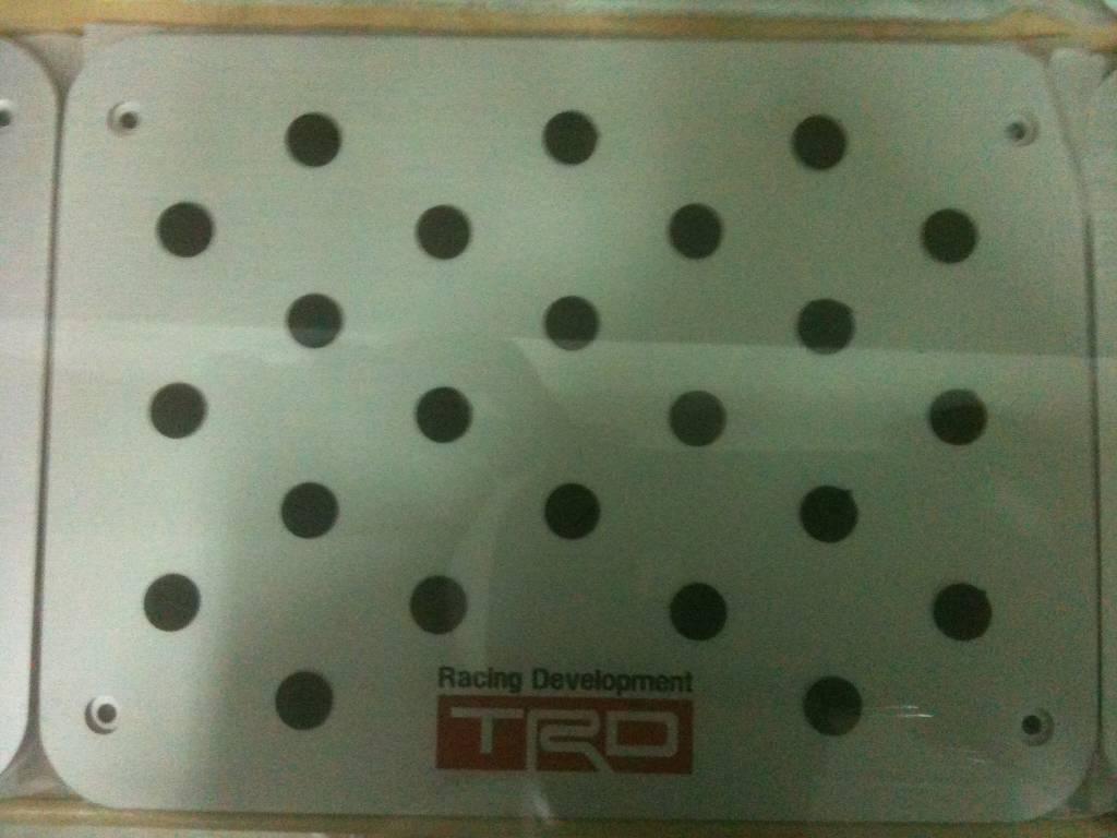 TRD Racing Car Floor Mat