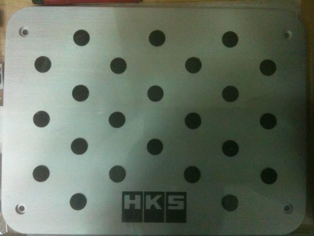 HKS Racing Car Floor Mat