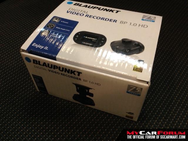 Blaupunkt BP 1.0 Wide Angle 1-Ch HD Car Camera