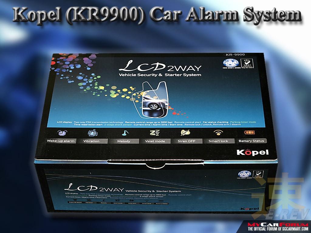 Kopel 2 Way Car Alarm System