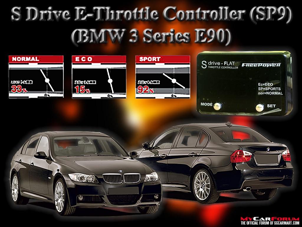 S Drive BMW 320i E-Throttle Controller Slim SP1 - SP9