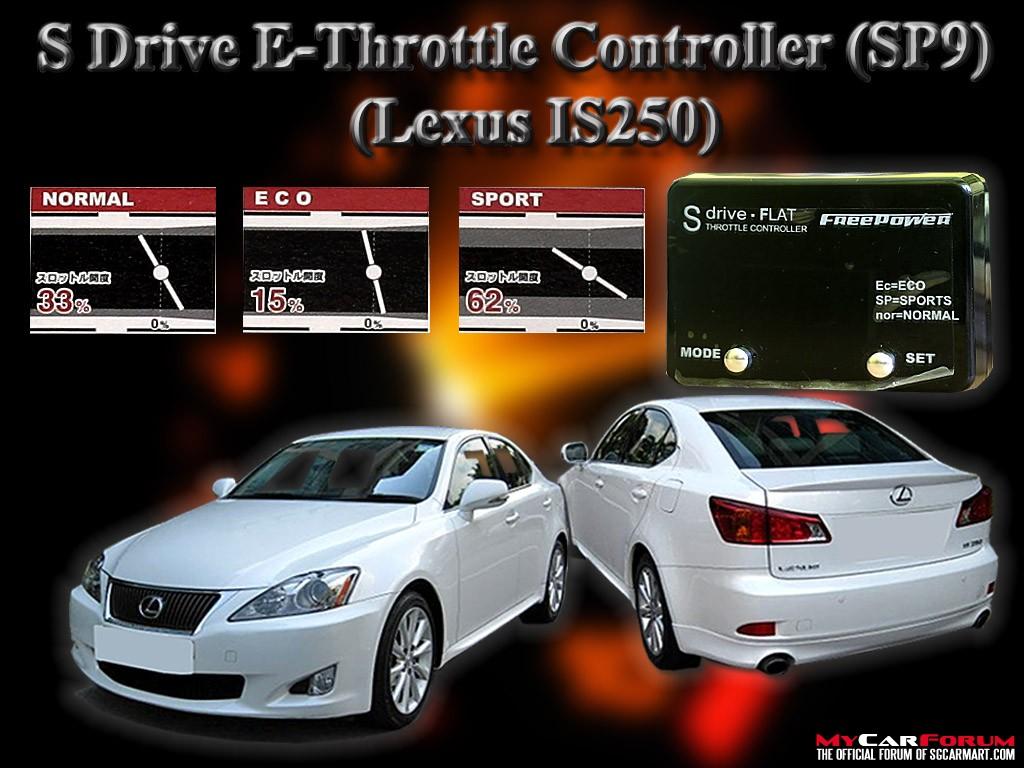 Lexus IS250 S Drive E-Throttle Controller Slim SP1 - SP9