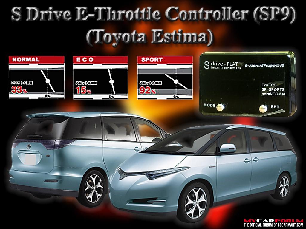 S Drive Toyota Estima E-Throttle Controller SP1 - SP9