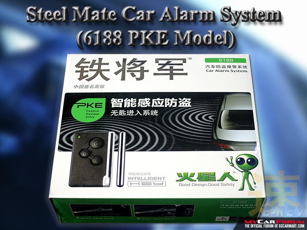 Steelmate 6188 PKE Car Alarm System