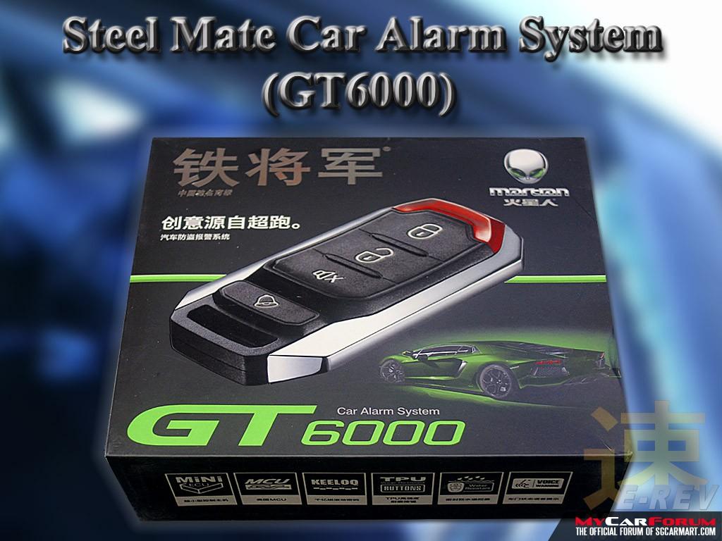 Steelmate GT6000 Car Alarm System