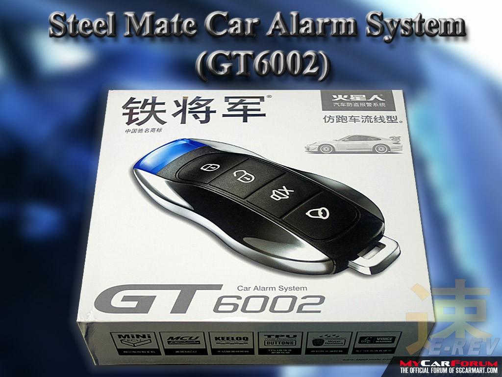 Steelmate GT6002 Car Alarm System