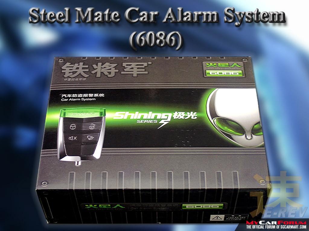 Steelmate S6086 Alarm System