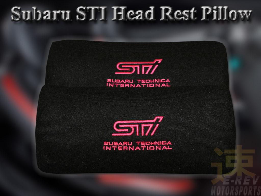 Subaru Logo Head Rest