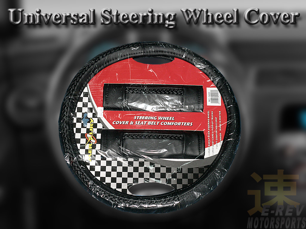 Steering Wheel And Safety Belt Cushion