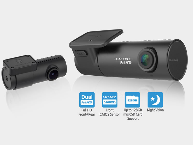 BlackVue DR590W-2CH Full HD 1080p Front and Rear Car Camera