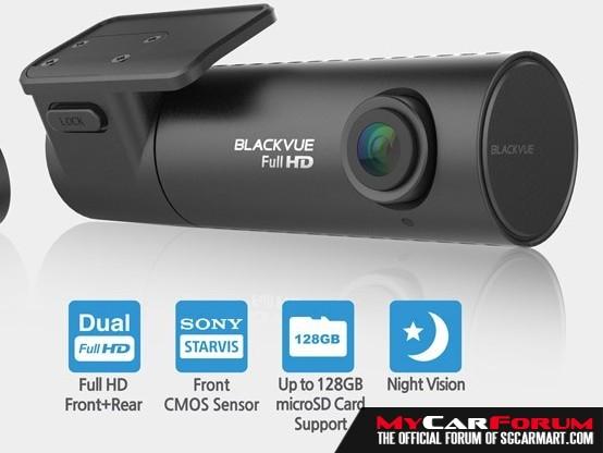 BlackVue DVR DR590W-2CH Full HD WiFi Car Camera