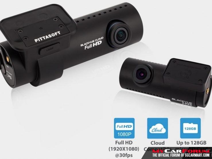 BlackVue DR650S 2-Ch Full HD + HD Car Camera