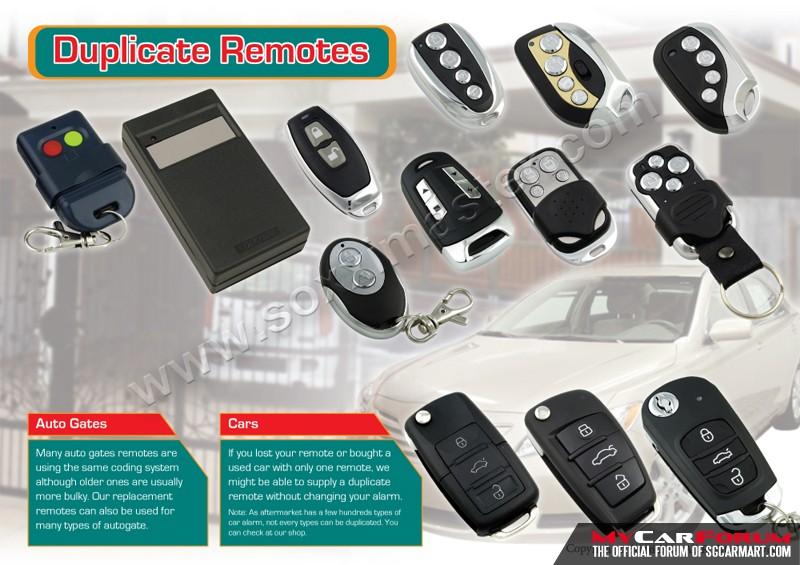 Duplicate Car Remote Service