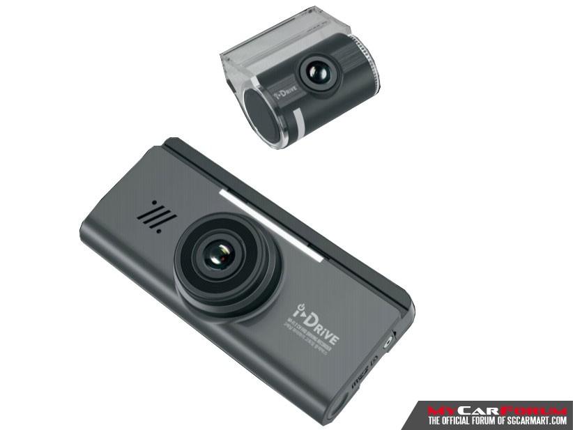 I-Drive i11 2-Channel Full HD WiFi Digital Recorder Car Camera