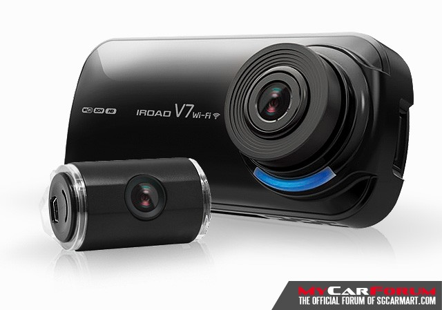 Iroad V7 Camera With Clear Video Quality