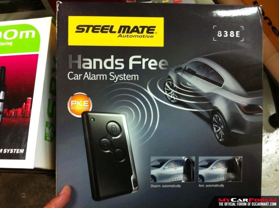 Steel Mate 838E Keyless Entry Car Alarm System