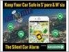 Silent Car Alarm GPS Vehicle Tracker