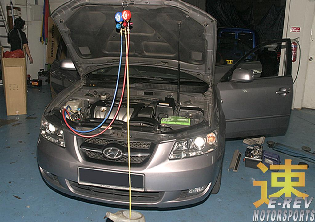 Hyundai Sonata Aircon Servicing And Repair