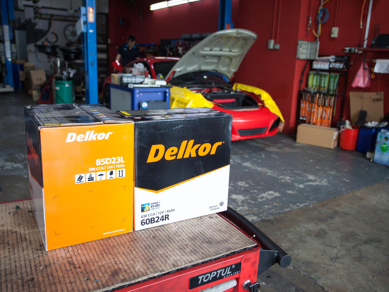 Delkor Automotive Battery