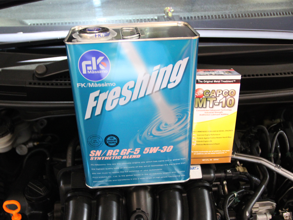 FK Massimo Oil Vehicle Servicing @ $118!