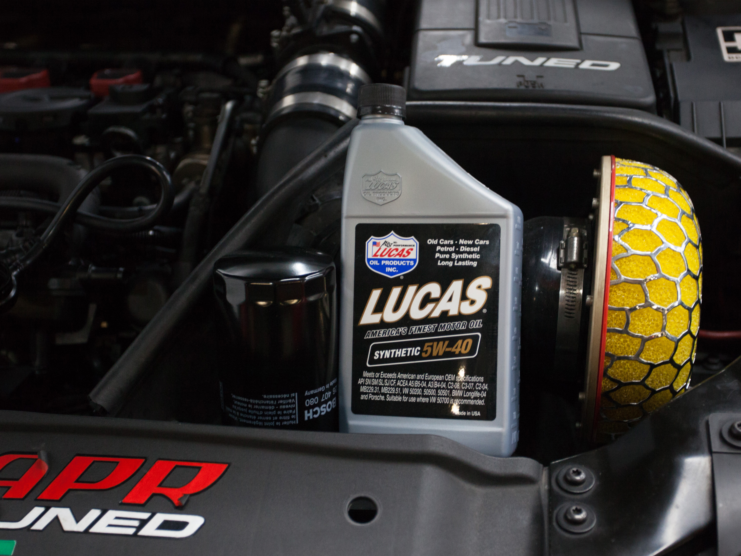 Lucas Synthetic 5W40 Vehicle Servicing (Continental Car Make)