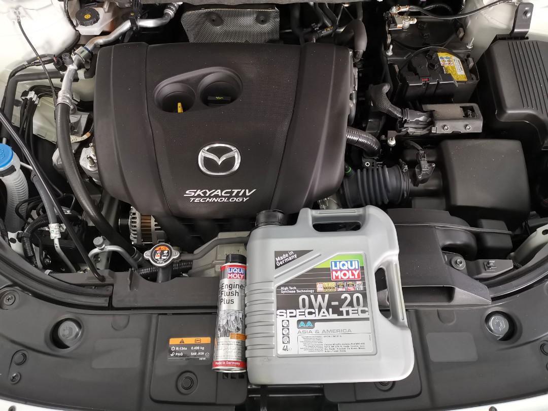 4L Liqui Moly 0w20 Special Tec AA Engine Oil Servicing Package (Free Liqui Moly Engine Flush)