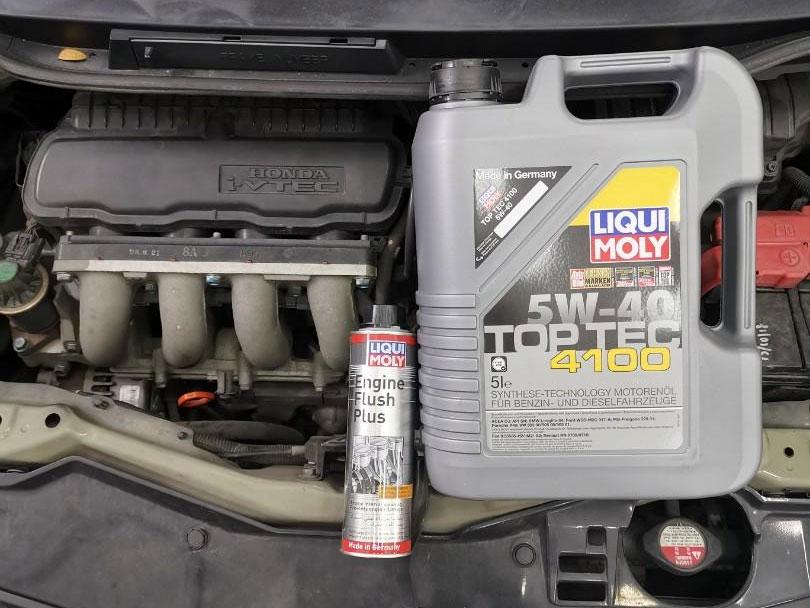 4L Liqui Moly Top Tec 4100 5W40 Engine Oil Vehicle Servicing (FREE Liqui Moly Engine Flush)