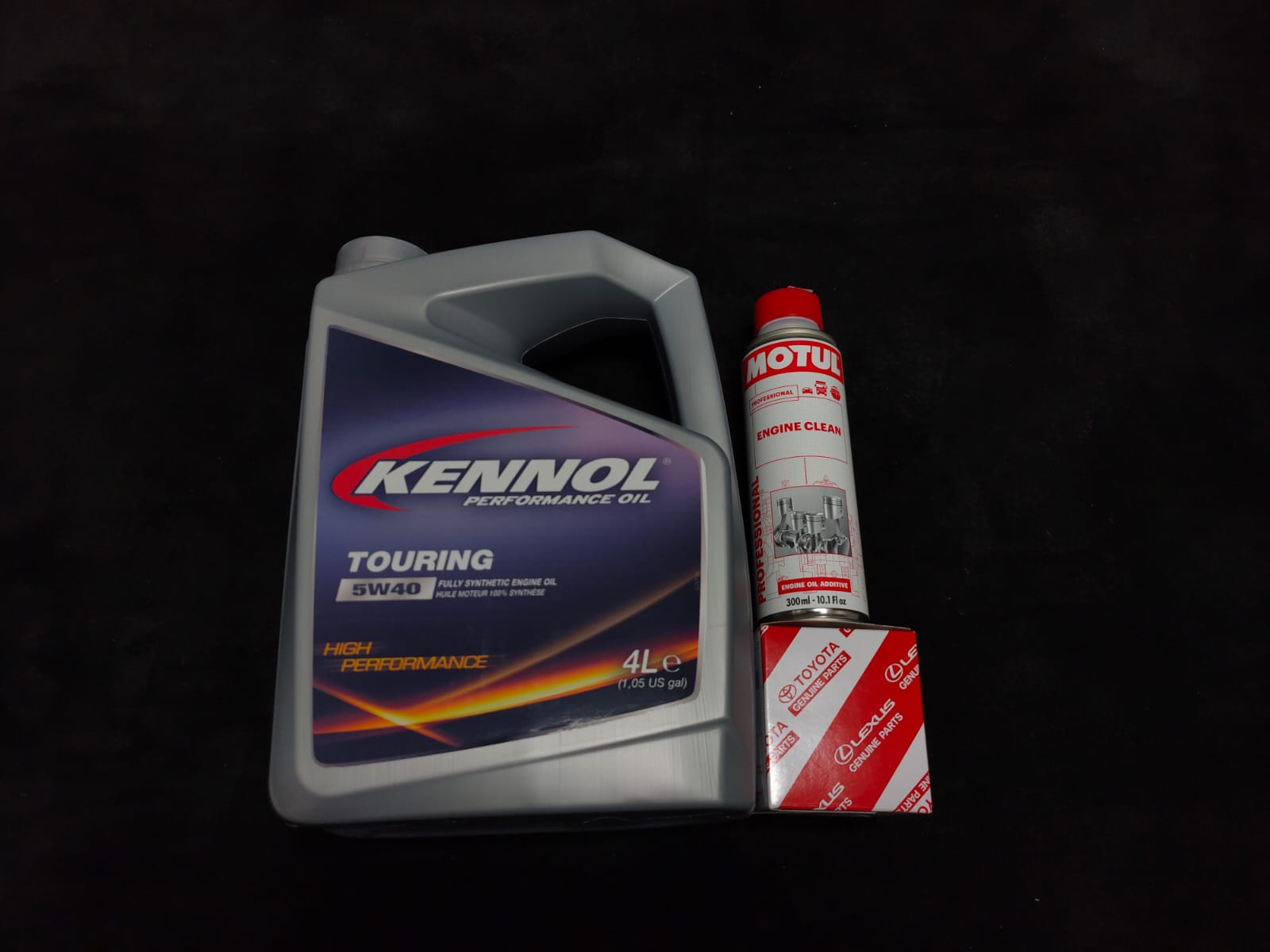 Kennol Touring 5W40 Car Servicing Package