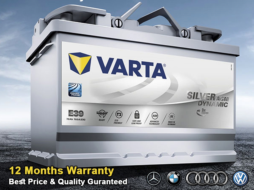 Varta Car Battery Replacement & Onsite Islandwide Recovery