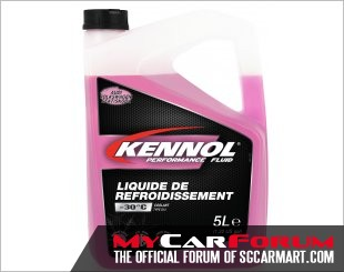 Kennol Continental Car Coolant Performance Fluid (5L)