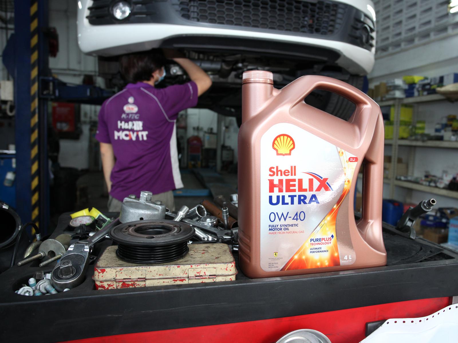 Shell Helix Ultra 0W40 Japanese Car Make Vehicle Servicing