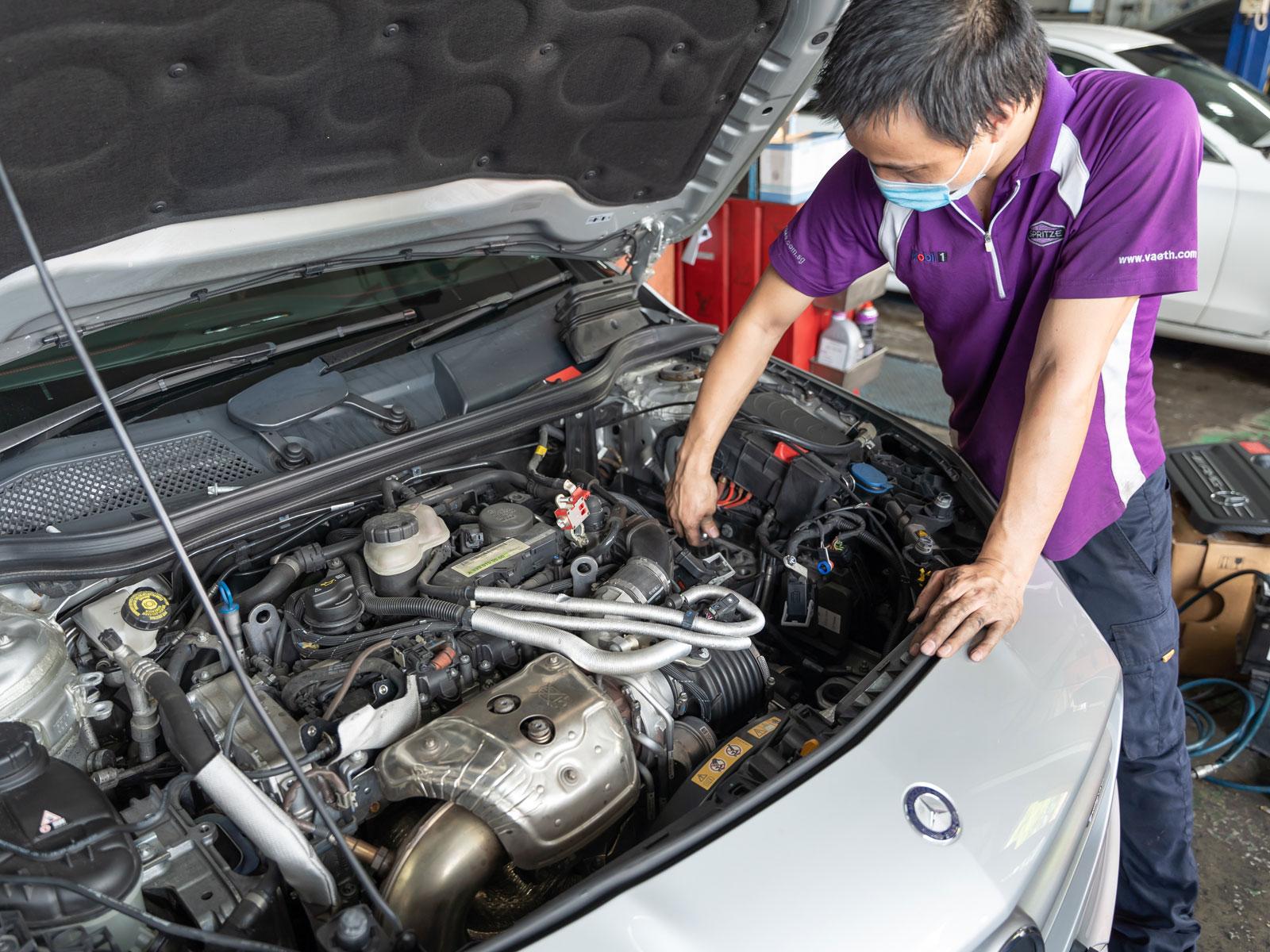 Shell Helix Ultra 5W40 Japanese Car Make Vehicle Servicing