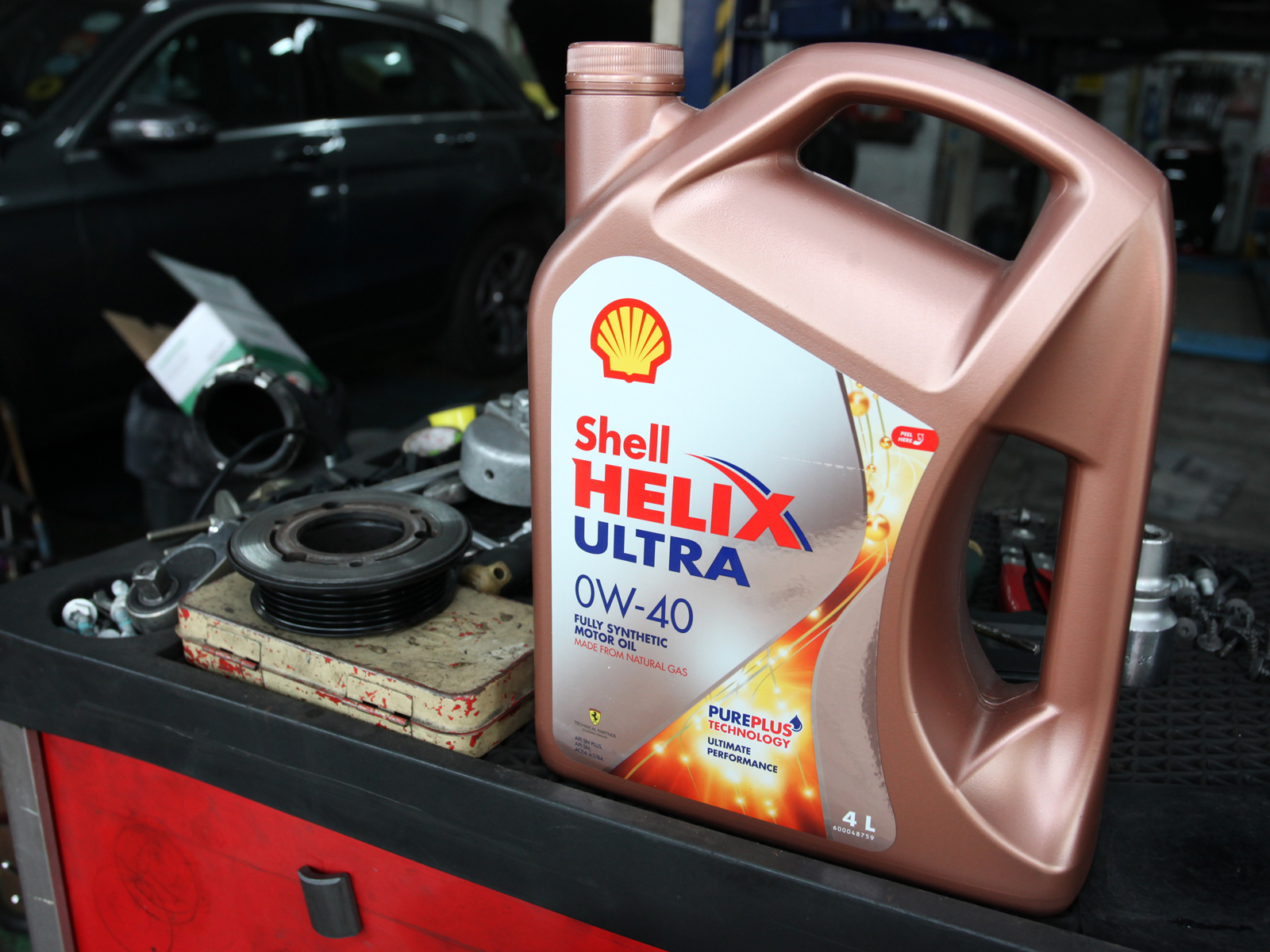 Shell Helix Ultra 0W40 Volkswagen / Audi 1.8 & 2.0 Vehicle Servicing