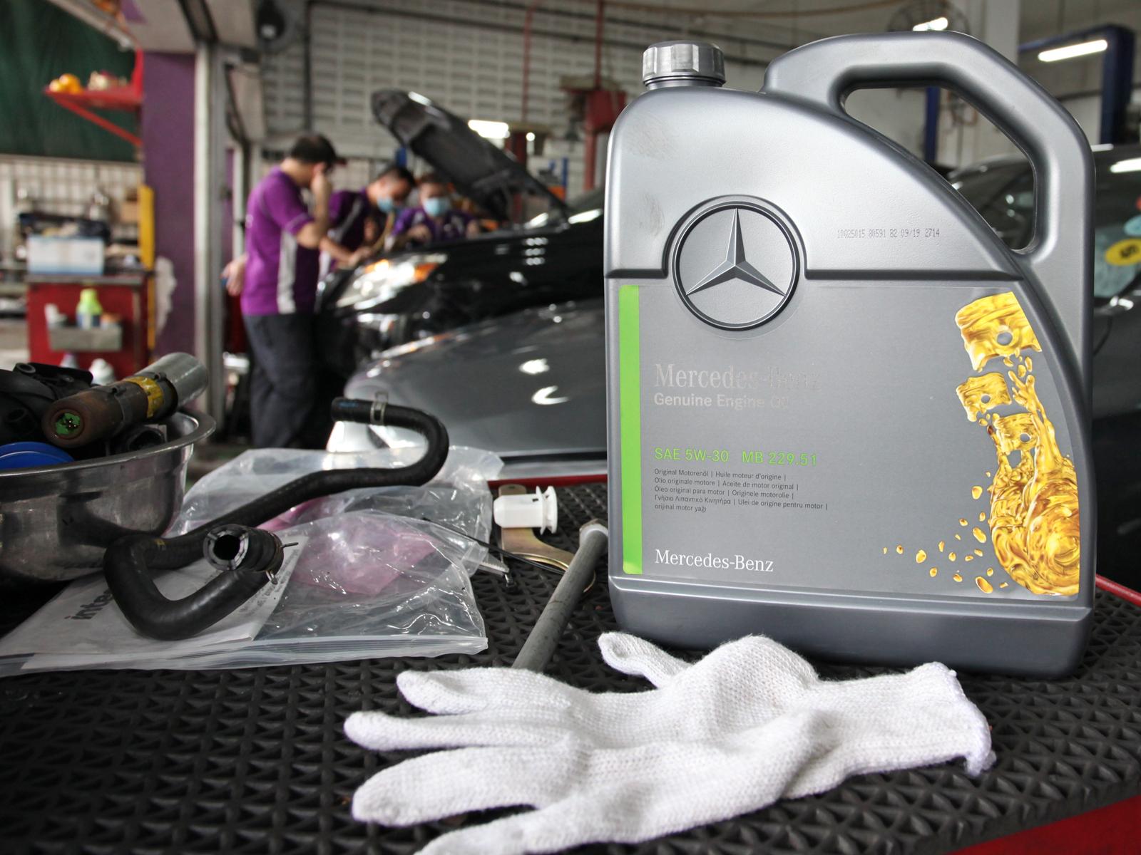 Genuine Mercedes-Benz MB229.51 SAE 5W30 Vehicle Servicing (For Mercedes-Benz A-Class / B-Class / C-Class / GLA-Class / GLC-Class)