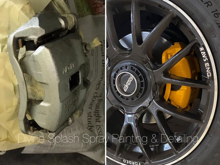 Brake Caliper Spray Painting Service
