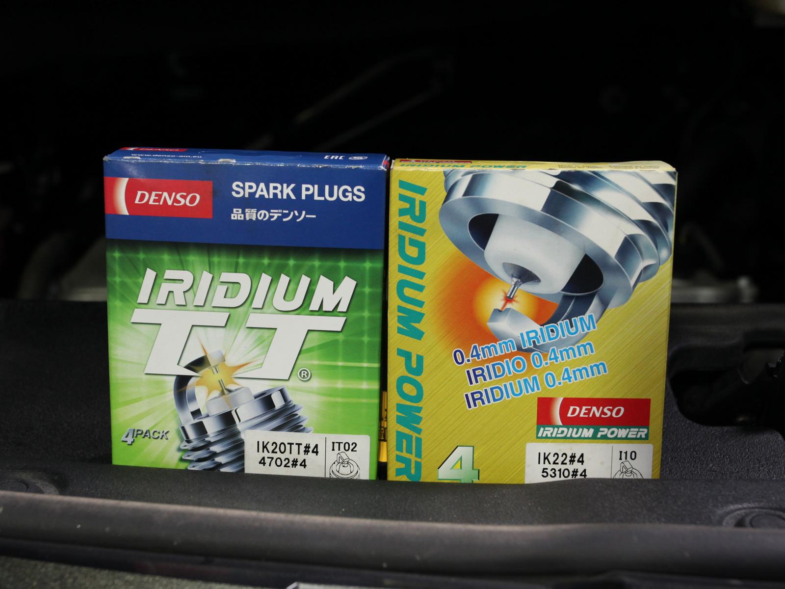 Denso Iridium Twin Tip Spark Plug (Japanese and Asian Car Makes Vehicle)