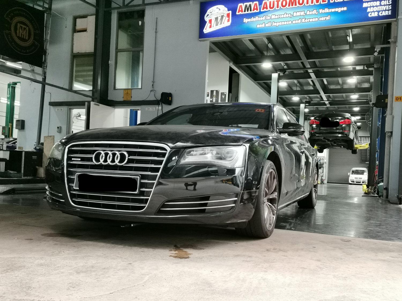 Audi Transmission Fluid Leak Repair Service